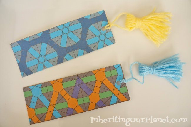 Easy Craft Ideas for Kids - Printable Coloring Bookmarks