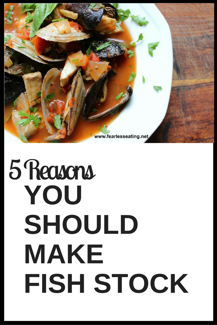 Fish broth is by far the easiest broth to make. Learn additional reasons why you should make fish broth including a recipe for a classic Italian fish stew.